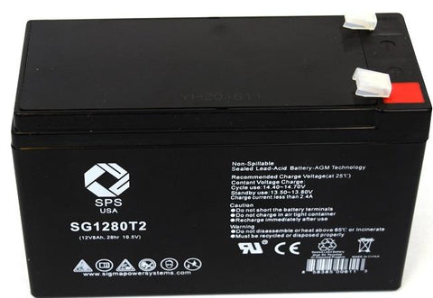 Alpha Technologies CFR 2500 (017-173-XX) Battery set with 14% higher capacity