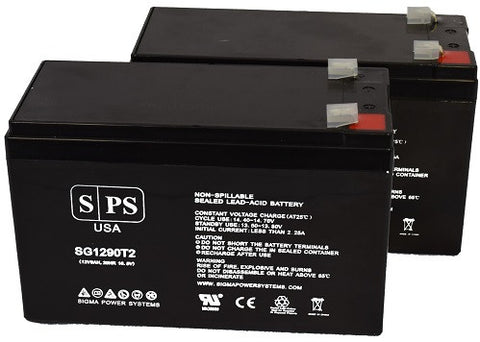 Deltec PRA 400 UPS Battery set 28% more capacity