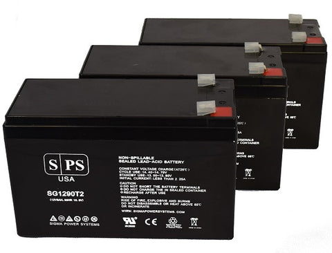 FN Series UPS Plus, SG1KRM 2TU Battery - 28% more capacity