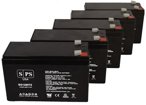Unison MPS1200A UPS Battery - 28% more capacity