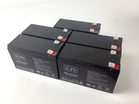 Clary Corporation UPS1-1.5K-1G battery set 12V 7Ah - 5 Pack - Sigma Batteries