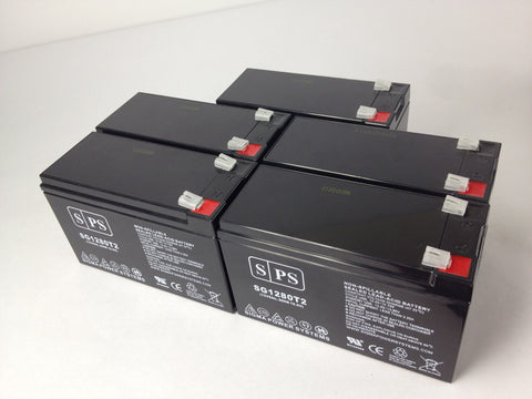 Clary Corporation UPS1-1.5K-1G UPS battery set 12V 8Ah - 5 Pack