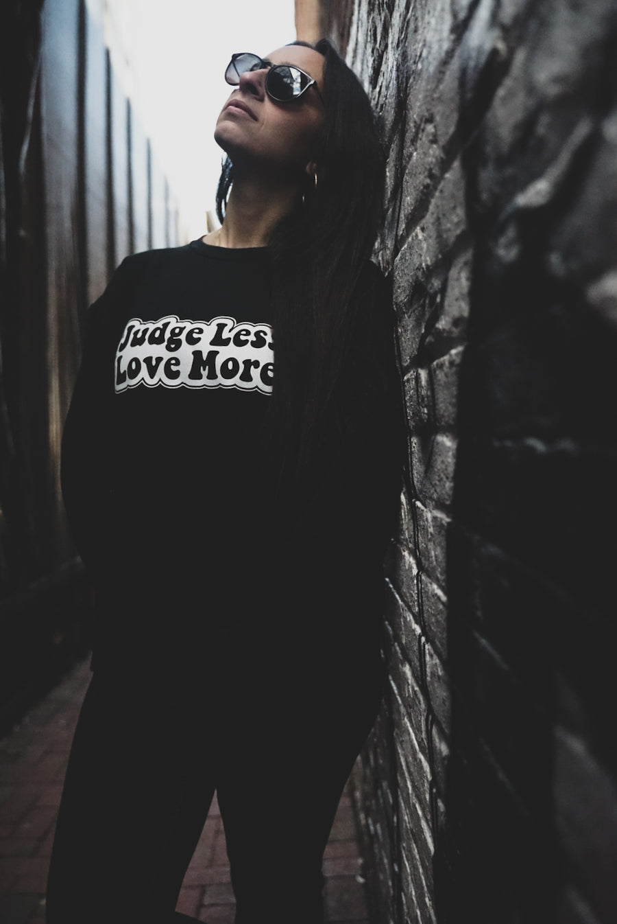 NEW* Judge Less, Love More. Unisex Sweater