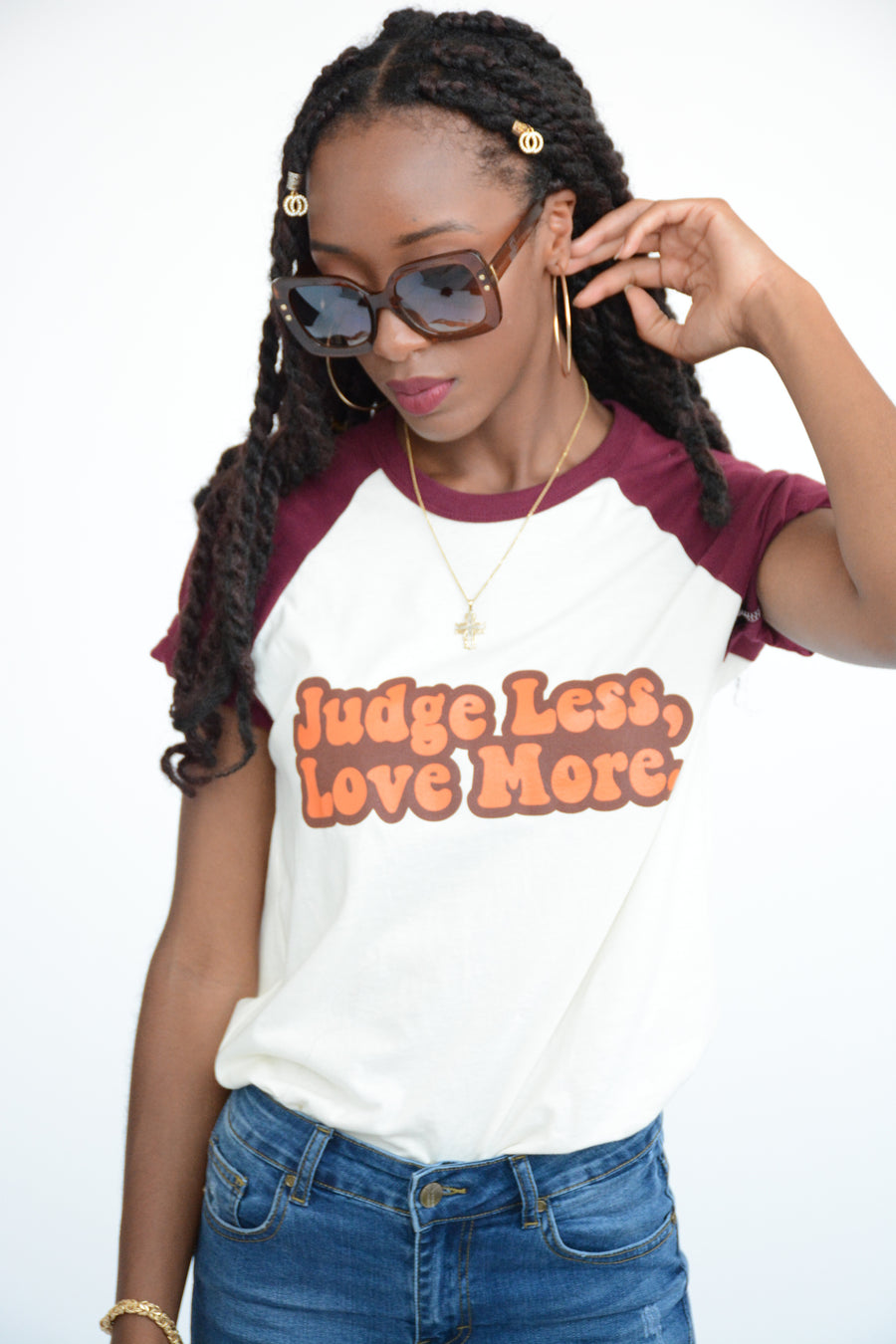 Judge Less, Love More. Unisex Tee