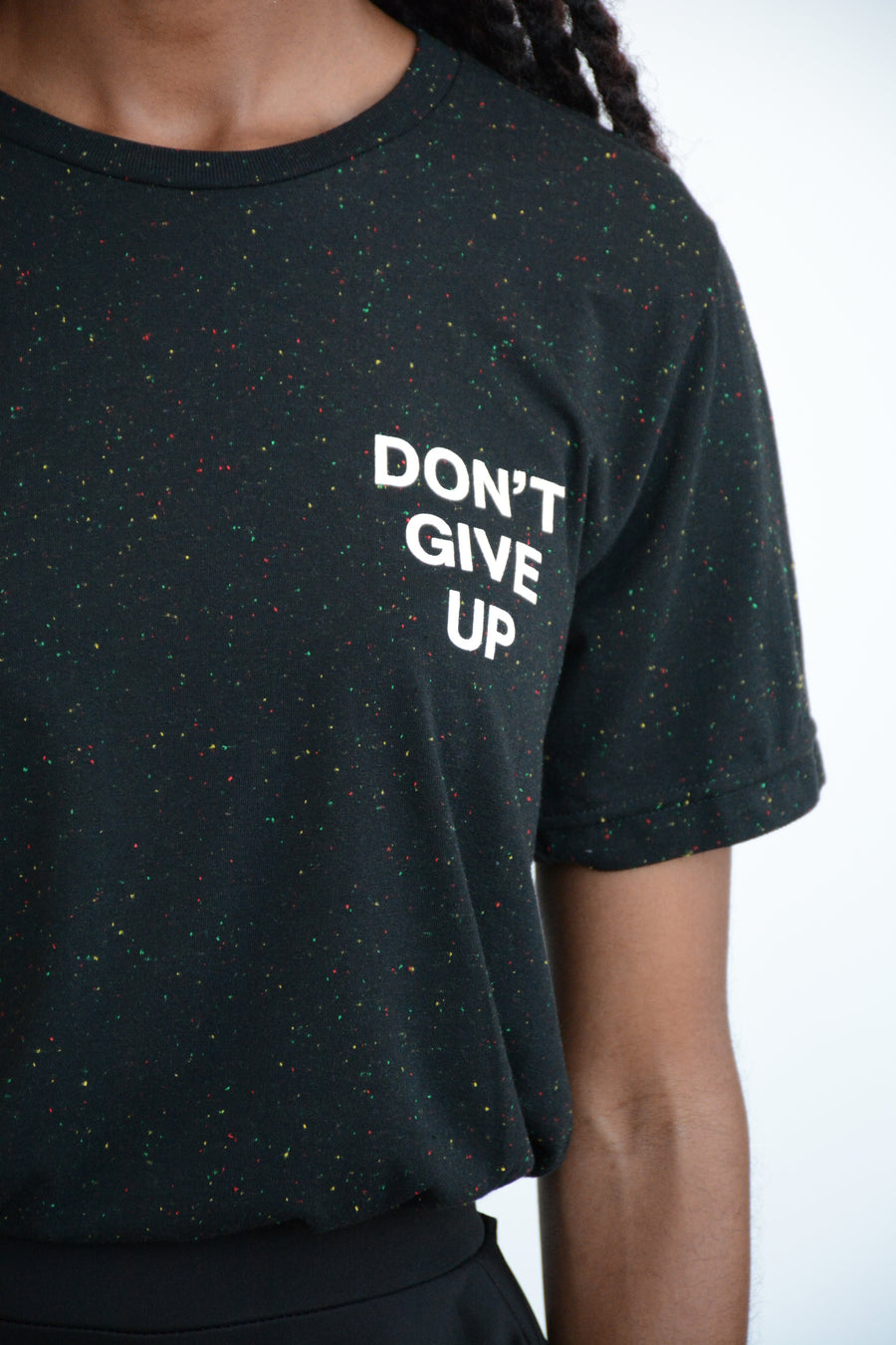 DON'T GIVE UP Unisex Galaxy Tee