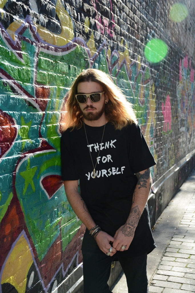 Think for Yourself Extended Tee