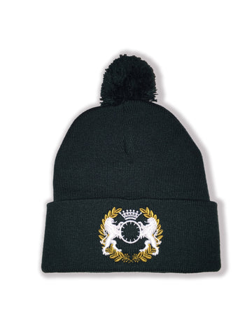Double Sided Beanie - Black
