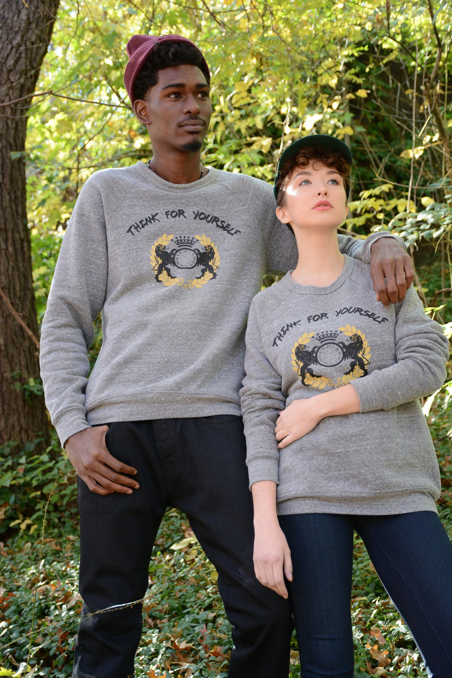 Think for Yourself Unisex Crewneck*