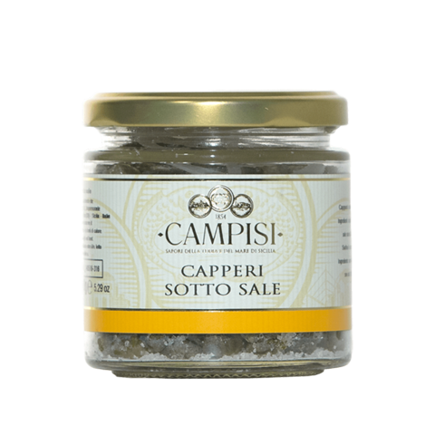 Campisi Capers with Salt