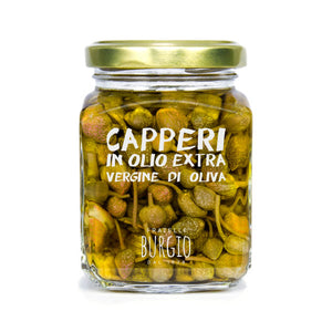 Fratelli Burgio Capers in Olive Oil