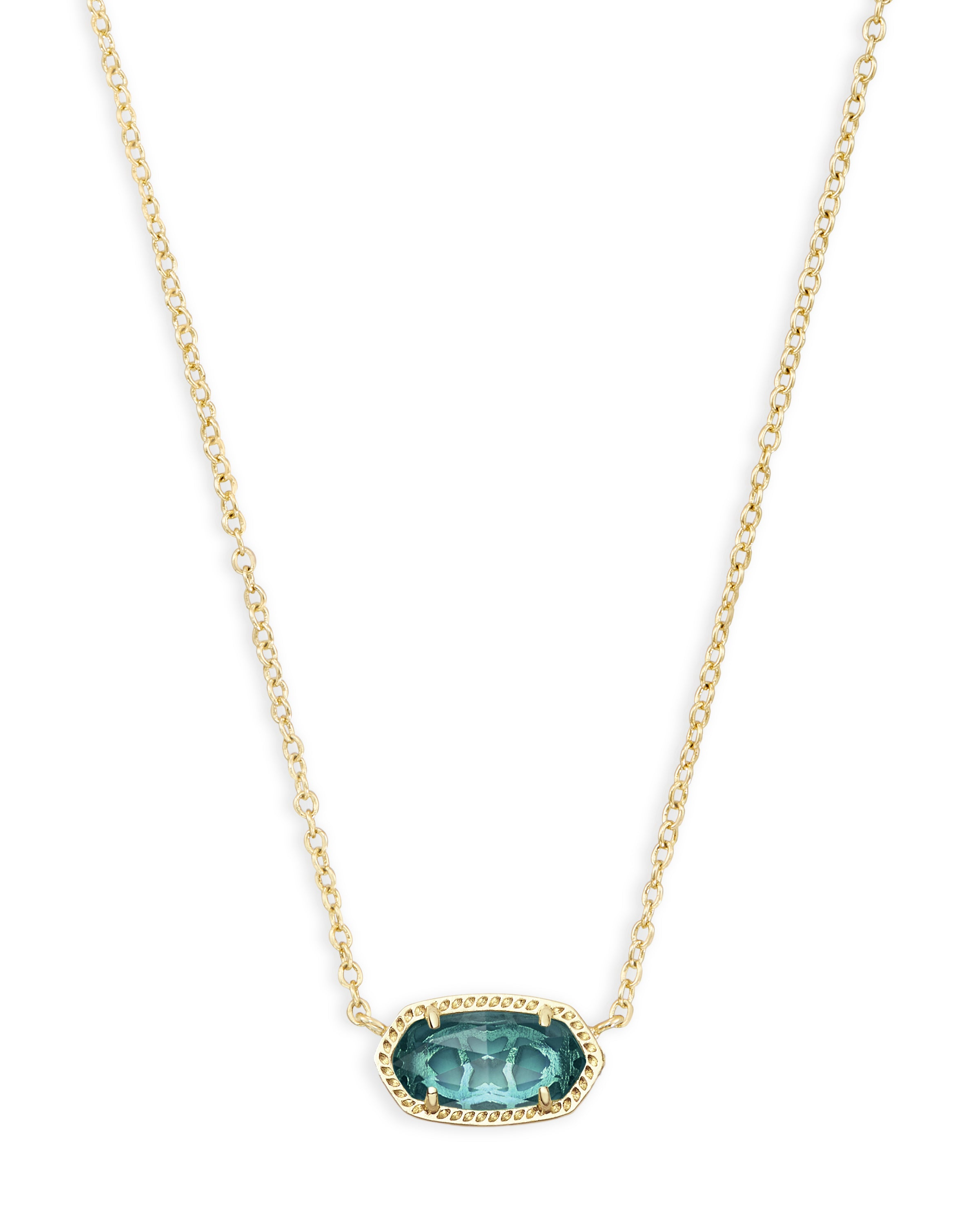 Kendra Scott Elisa Pendant in Gold