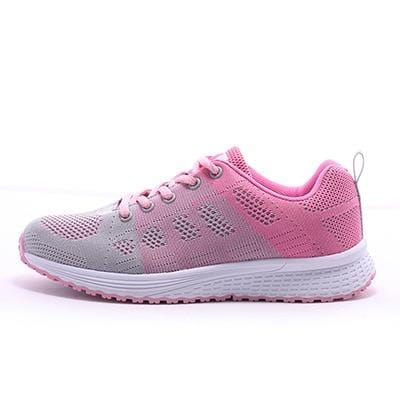 Women Casual Sport Shoes Fashion Men Running Shoes Fly Weave Air Mesh Sneakers Black White Non Slip Footwear Breathable Jogging