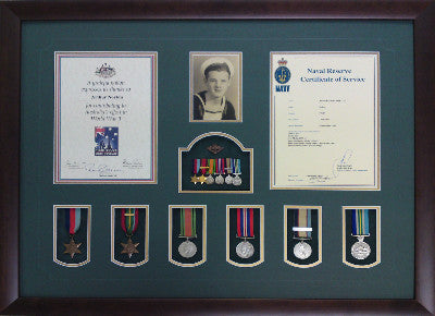 ANZAC/MILITARY ITEMS - Object Framers, Object Framers - Picture Framer Perth