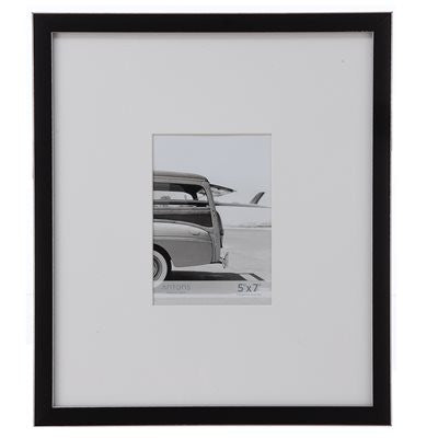 Gallery Collection Frame #9 - Black / Silver