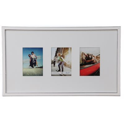 Gallery Collection Frame #8 - White/silver