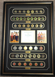 Display your medals and Awards