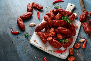 Smoked Cooking Chorizo Sausage - Approx 50g sausages, pack size 500g
