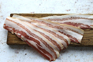 Artio Pancetta - 90 day aged salt cured bacon, 75g sliced