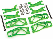 Load image into Gallery viewer, Traxxas Green WideMaxx Suspension Kit TRA8995G