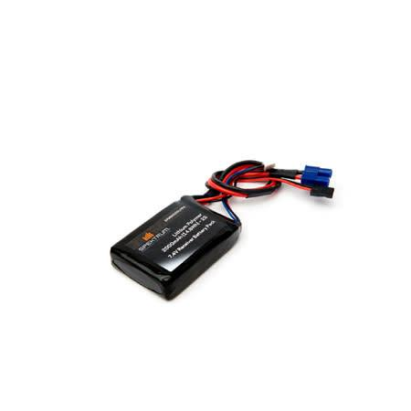 2000mAh 2S 7.4V LiPo Receiver Battery