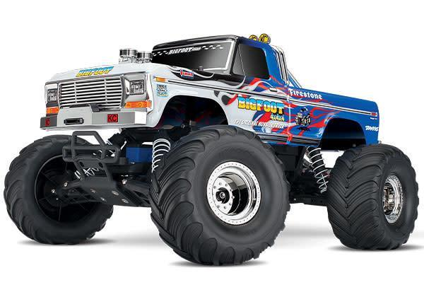 Bigfoot No. 1: 1/10 Scale Officially Licensed Replica Monster Truck with TQ 2.4GHz radio system
