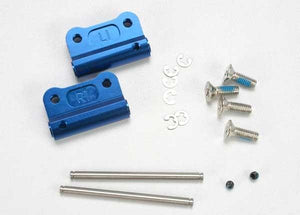 Aluminum Rear Suspension Mount, Blue (L&R)