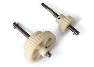 Single-speed conversion kit (Eliminates two-speed mechanism for reduced weight, less rotational mass)