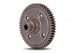 Spur gear, steel, 54-tooth (0.8 metric pitch, compatible with 32-pitch) (requires #6780 center differential)