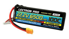 Load image into Gallery viewer, Lectron Pro™ 22.2V 6500mAh 100C Lipo Battery with XT90 Connector