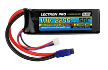 Load image into Gallery viewer, Lectron Pro 11.1V 2200mAh 50C Lipo Battery with EC3 Connector for the Blade 350 QX, 450, & Parkzone Planes
