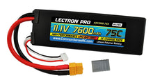 Load image into Gallery viewer, Lectron Pro™ 11.1V 7600mAh 75C Lipo Battery with XT60 Connector + CSRC adapter for XT60 batteries to Traxxas® vehicles