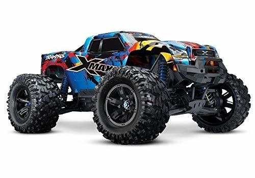 X-Maxx Brushless Electric Monster Truck with TQi Traxxas Link Enabled 2.4GHz Radio System & Traxxas Stability Management (TSM)