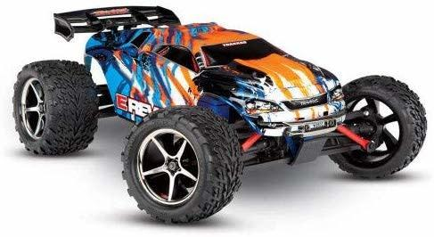 Traxxas E-Revo 1/16 4WD Brushed RTR Truck (Orange)
