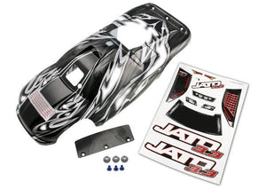 Traxxas 5511R Jato 3.3 Prographix Body with Decal Sheet