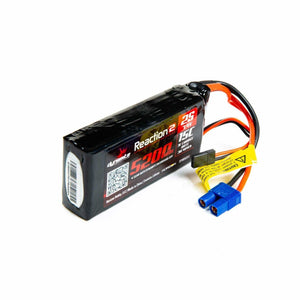 Dynamite Reaction 2.0 7.4V 5200mAh 15C 2S LiPo Battery: 5IVE-T, 5IVE-B, Mini WRC, DYNB52213