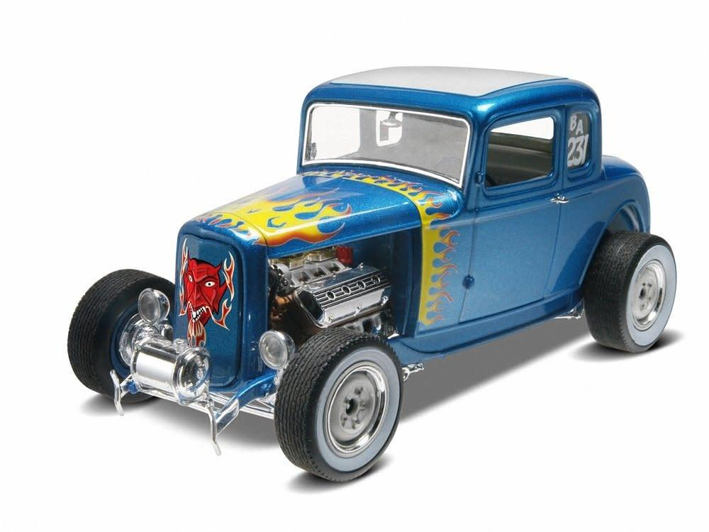 1/25 '32 Ford 5 Window Coupe 2 'n 1