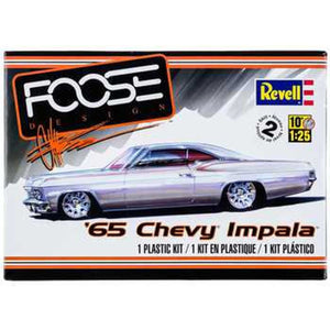 Collectible Plastic Model Kit: 1965 Chevy Impala Foose Design Model Kit