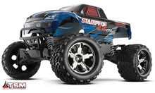 Load image into Gallery viewer, Stampede 4x4 Vxl TSM TQi RTR Blue