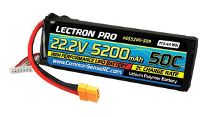 22.2V 6S 5200mAh 50C with XT90 Connector