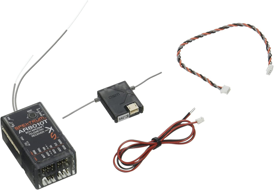 AR8010T DSMX 8-Channel Air Integrated Telemetry Receiver