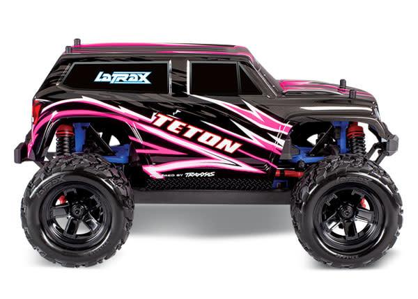 76054-5-pink Teton 18th Scale 4WD Monster Truck RTR