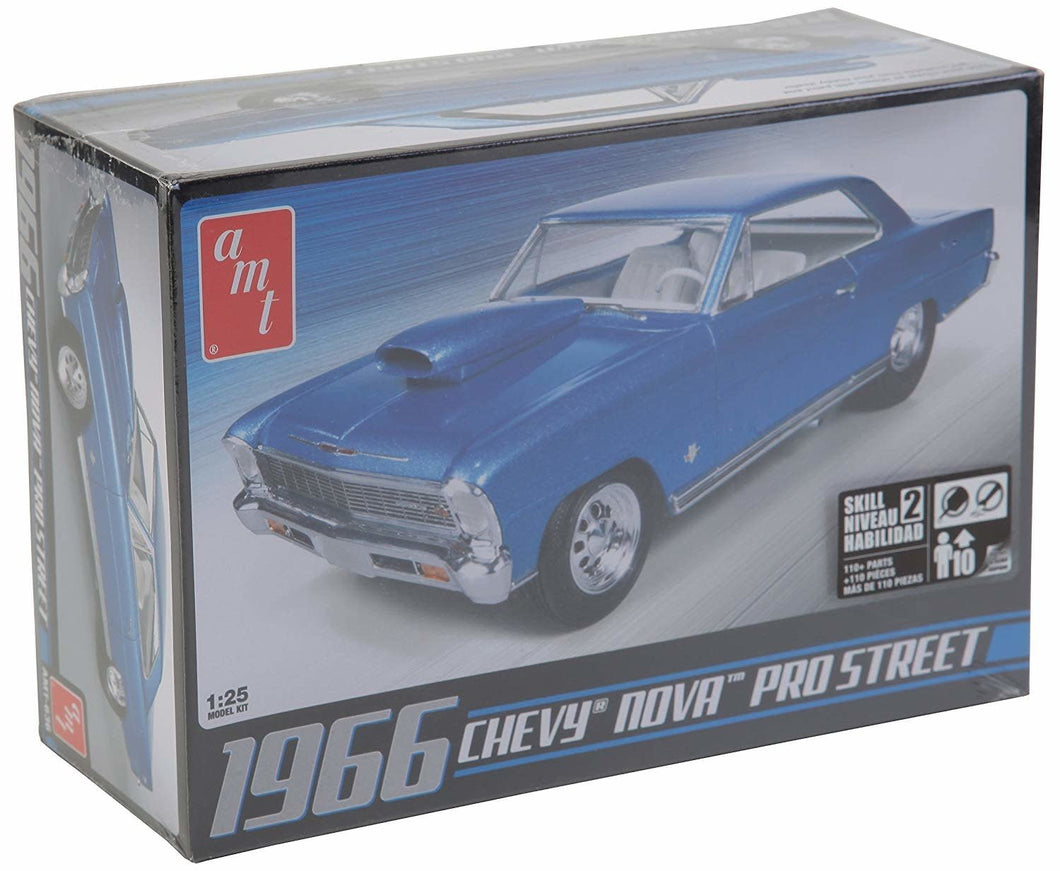 AMT 1/25 Scale '66 Chevy Nova Pro Street Dragster Kit