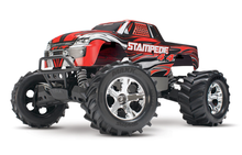 Load image into Gallery viewer, 67054-1-RED Stampede 4X4 Brushed 10th Scale 4WD Monster Truck Red