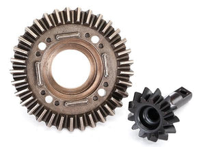 Ring gear, differential/ pinion gear, differential (front)