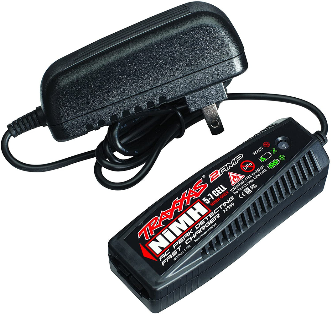 Charger, AC, 2 amp NiMH peak detecting (5-7 cell, 6.0-8.4 volt, NiMH only)