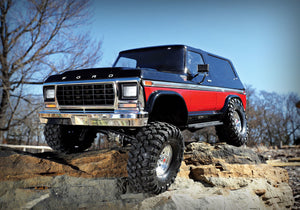 82046-4 - Ford Bronco: 4WD Electric Truck trx4 Red