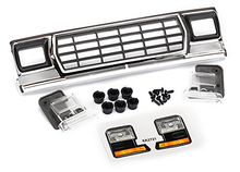 Load image into Gallery viewer, Grill, Ford Bronco/ grill retainers (3)/ headlight housing (2)/ lens (2) (fits #8010 body)