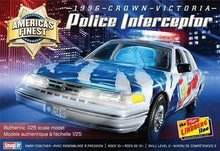 Load image into Gallery viewer, 1/25 Crown Victoria Police Cruiser, America's Fine