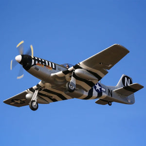 P-51D Mustang 1.2m BNF Basic w/AS3X and SS