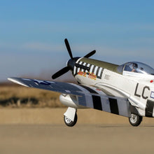 Load image into Gallery viewer, P-51D Mustang 1.2m BNF Basic w/AS3X and SS
